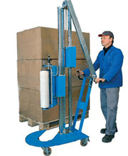 Mobile Pallet Wrapper